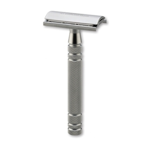 Stainless Steel Double-Edge Razor Without Stand (F125901)