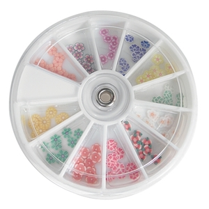 Flower Nail Art Slices (DL-C327)