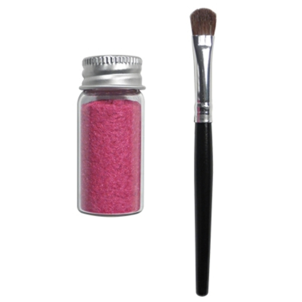 Nail Art Flocking Powder & Brush Set (FSC-53)