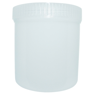 Translucent Jar 20.5 oz. 610 mL. (FSC474)