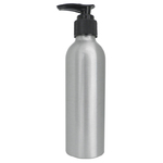 5 oz. Aluminum Lotion Dispenser Bottle with Pump Top (B85)