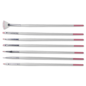 7 Piece Nail Art Brush Set (DL-C340)