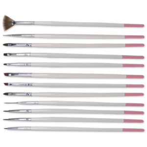 12 Piece Nail Art Brush Set (DL-C341)