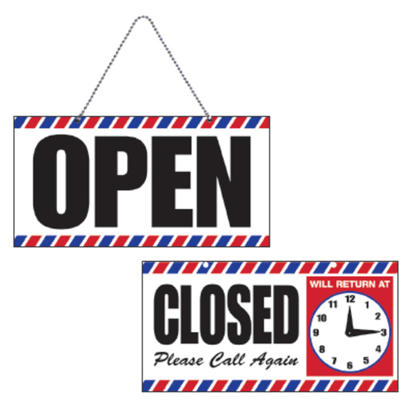 OpenClosed Sign with Clock (SC-9018)