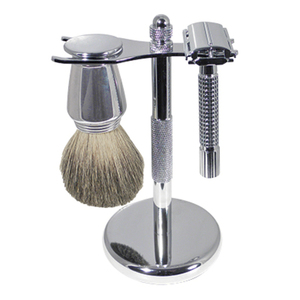 Chrome Shaving Set (SB-19)