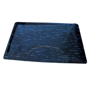"Rectangle Marble Salon Mat 3' x 5' - 12"" Thick (9033)"