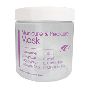 16 oz. Manicure & Pedicure Mask Jar - EMPTY JAR ONLY! Case of 75 (FSC497)