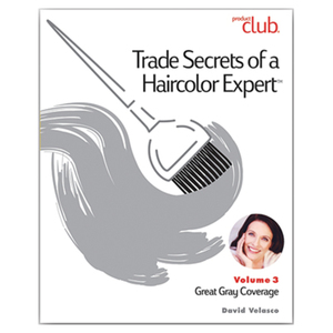 Trade Secrets of a Haircolor Expert with David Valesco - Vol. 3 Great Gray Coverage (TSX-VOL3)