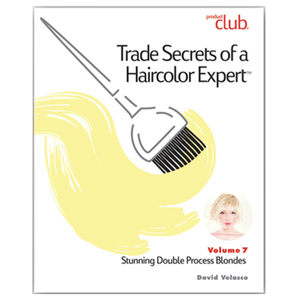 Trade Secrets of a Haircolor Expert with David Valesco - Vol. 7 Stunning Double Process Blondes (TSX-VOL7)
