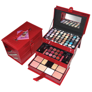 75 Piece Makeup Train Case (WX2012)