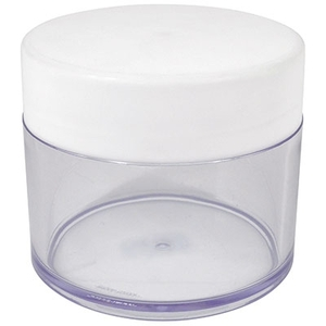 Clear Plastic Jar - 300 mL 10 oz. Jar (FSC469)