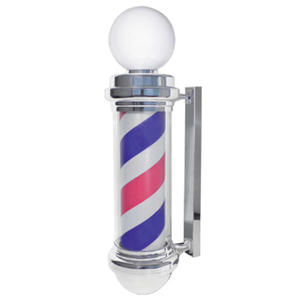 Deluxe Barber Pole Light-Up + Revolving! (SC-9020)