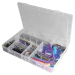 "Storage Box With Dividers 1-34""H 13-12""W x 8-12""D (DL1643)"