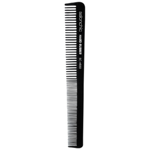 "6"" Hard Rubber Barber Comb - High Heat Heat Resistant (SC-HR30 )"