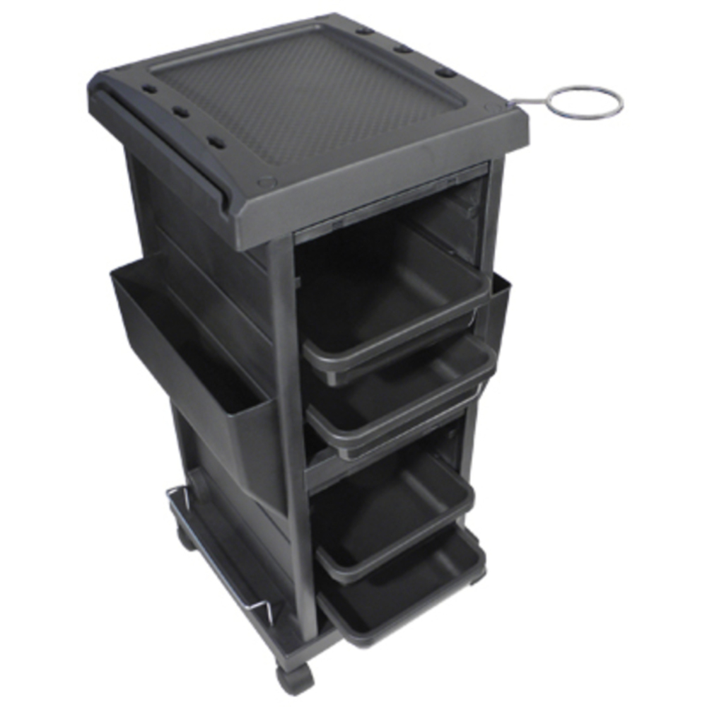 Salone Tray Surreal And Unconventional: 4-Tray Lockable Trolley (9040