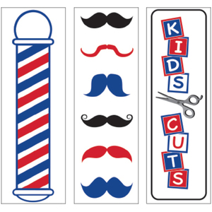 Barber Shop Decals 3 Pack (SC-9021)