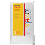 Disposable Towels 3 Pack (DST-3WH)