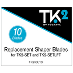 Replacement Blades for TK2-SET and TK2-SETLFT 10 Pack (TK2-BL10)