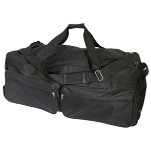 "Jumbo Tote With Telescopic Handle 14.5""H x 35""W x 16.5""D (NY996-BK)"