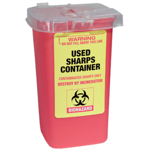 Used Sharps Container 1 Liter - 33.8 Fl. Oz. (FSC555)