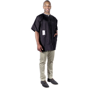Crinkle Nylon Barber Jacket - Extra Large (4105)