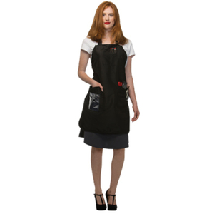 "Salon Apron - Black 29"" x 30"" (SA-BLK)"