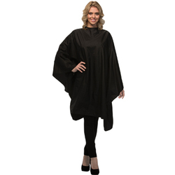 "Chemical Cape - Black 54"" x 60"" (CC-BLK)"