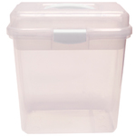 "Chemical & Acetone Proof Nail Tech Storage Box 10.5""H x 8-14""W x 4""D (DL-C424)"