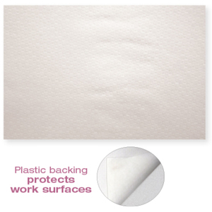 "Protective Nail Towels With Plastic Backing - 12"" x 16"" 50 Pack (DL-C412)"