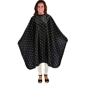 "Polka Dot Haircutting Cape 45"" x 58"" (4114)"