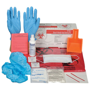 Blood & Bodily Fluid Cleanup Kit (7353)