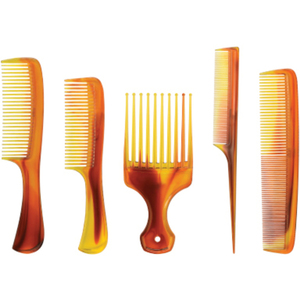 5 Piece Assorted Tortoise Comb Kit (AR-38)