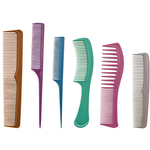 6 Piece Assorted Comb Set (AR-39)