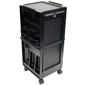 Salon Trolley With Lockable Doors (9051)