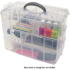 "3-Tier Storage Box 9.5""L x 12.5""W x 7.25""D (DL-C454)"