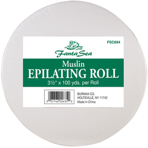 "Muslin Epilating Roll 3.5"" Wide x 100 Yards (FSC694)"