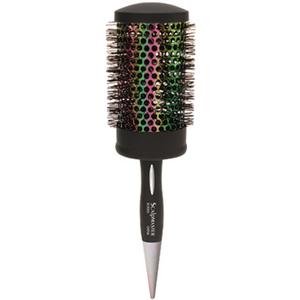 "Crimped Bristle Thermal Round Brush - Iridescence Collection 2-34"" Large (SC9306)"