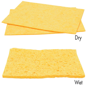 Compressed Rectangle Cellulose Sponges 25 Pack (FSC702)
