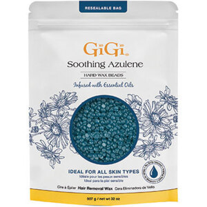 Soothing Azulene - Hard Wax Beads with Chamomile Essential Oil - Ideal For Sensitive Skin 32 oz. (GG-0314)