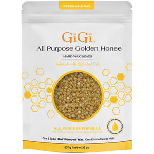 All Purpose Golden Honee - Hard Wax Beads with Jasmine Essential Oil 32 oz. (GG-03180)