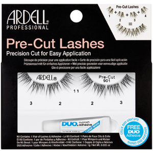 ARDELL Pre-Cut 901 Lashes - Black (AD67465)