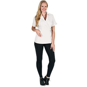Canyon Rose Esthetician Wrap Jacket - White Medium (BD676WHM)