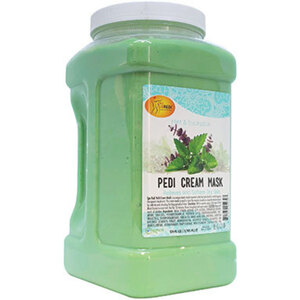 Pro Nail Mint & Eucalyptus Pedi Mask Cream 1 Gallon (C01S-05230)