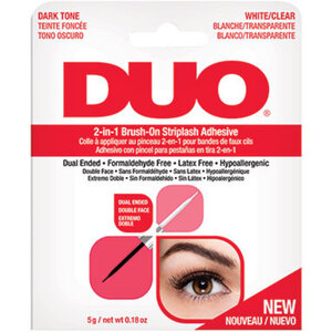 DUO 2-in-1 Quick Set Clear and Dark Brush On Adhesive (D65696)
