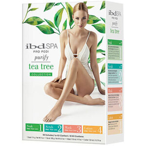 IBD Spa Pedicure Kit - Tea Tree 4 Pieces (IBD02088)