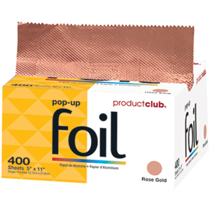 "Product Club Ready To Use - Rose Gold Pop-Up Foil - 5"" x 11"" 400 Count (PHF-400RG)"