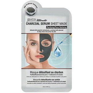 Satin Smooth Charcoal Serum Sheet Mask (SSKDMK)