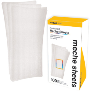 "6"" x 12"" Contoured Meche Strips 100 Count (MHS-100)"
