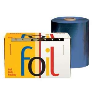 "Economy Highlighting Roll Foil - Dark Blue 5"" x 1200' (RF-50-60DB)"