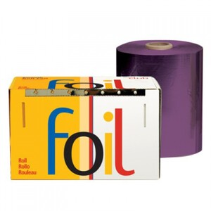 "Economy Highlighting Roll Foil - Purple 5"" x 1200' (RF-50-60PU)"